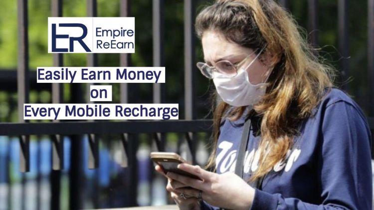 Easily Earn Money on Every Mobile Recharge
