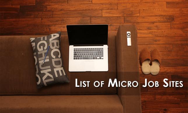 Top 10 Micro Jobs Websites To Earn Money Online | by Peter | Medium